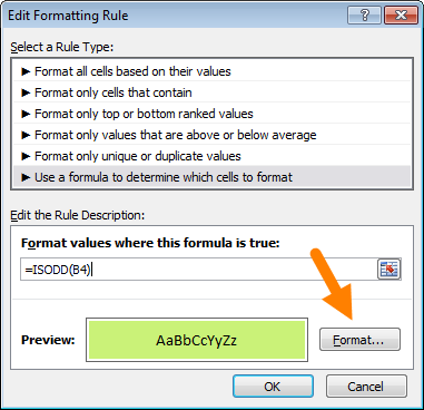 Conditional formatting with formulas (10 examples) | Exceljet