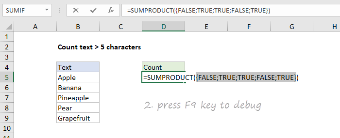 Step 2: press F9 key to debug