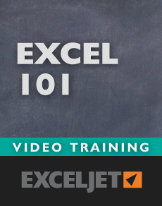 Excel 101 basic training video course