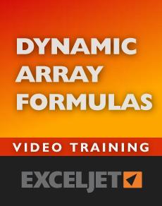 Dynamic Array Formulas