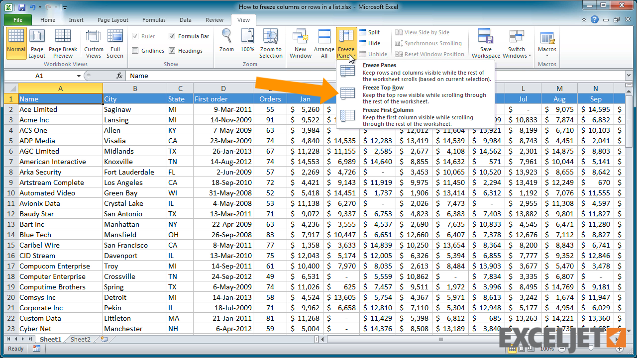 How To Freeze Columns In Excel Image collections - How To