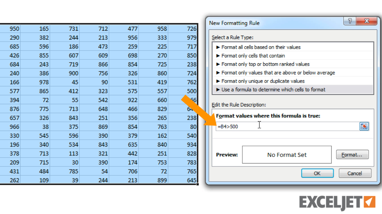 excel tutorial how to use a formula with conditional formatting