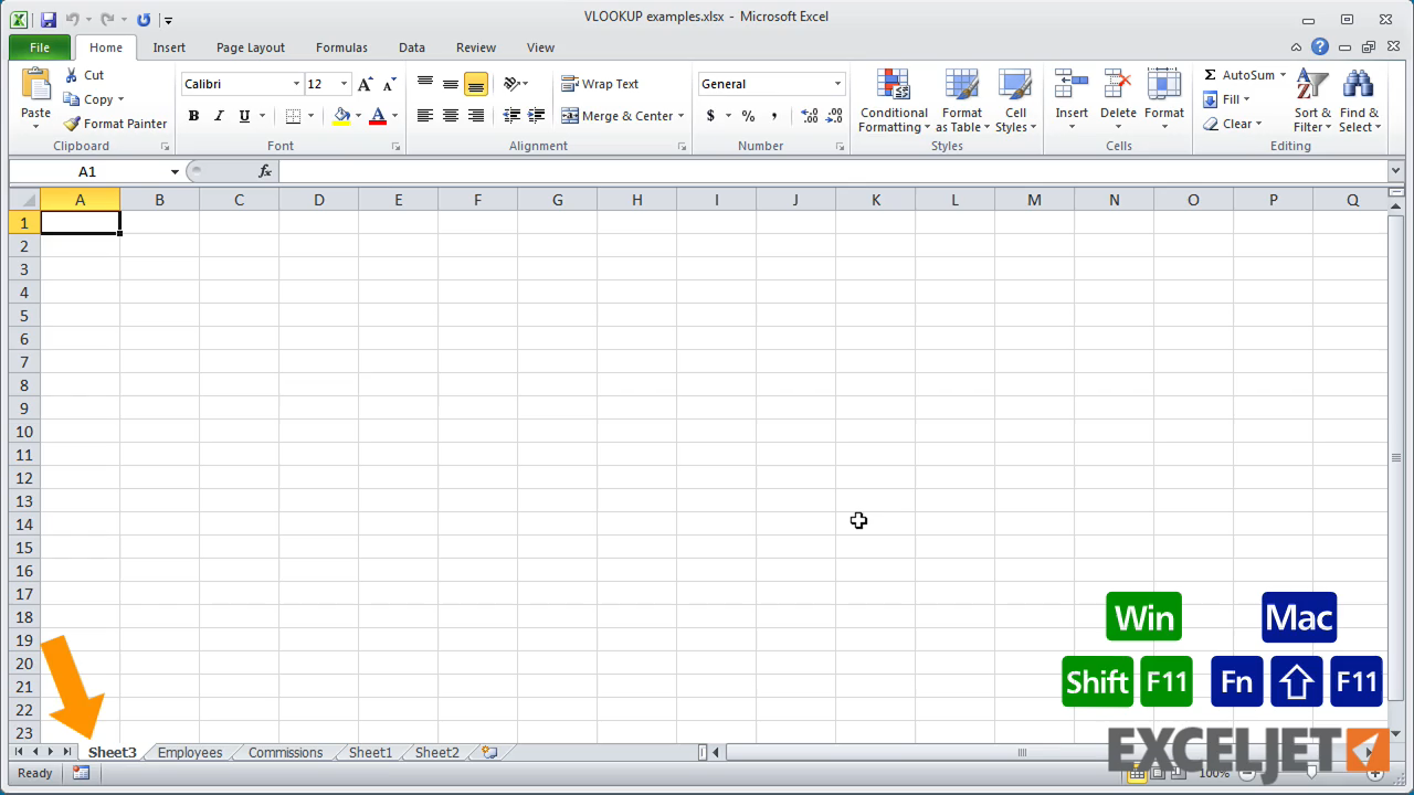 Workbooks excel.workbooks.open : Excel tutorial: Shortcuts to navigate workbooks