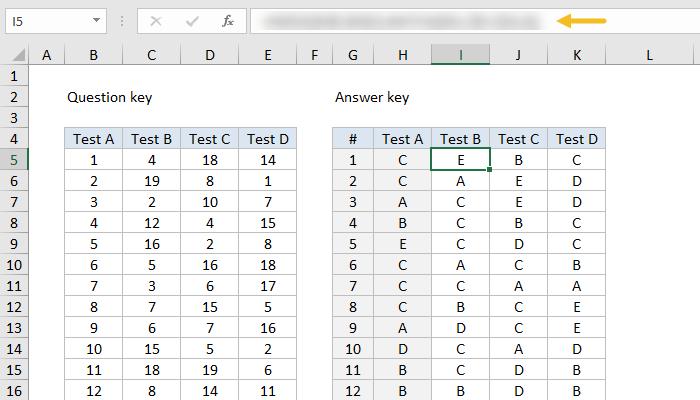 formula challenge build answer key for tests exceljet puzzle