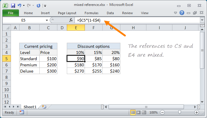 how to create a glossary of terms in excel