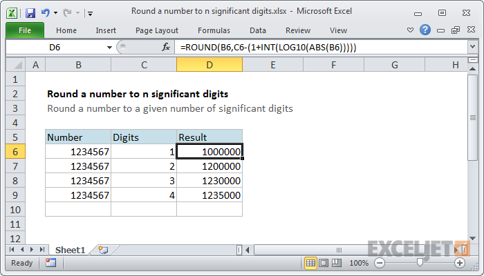 How to use the Excel ROUND function | Exceljet