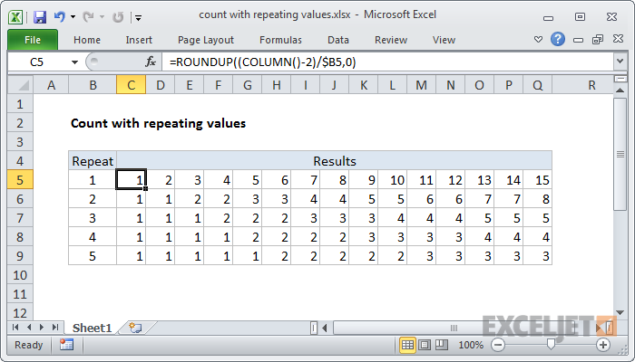 How to use the Excel ROUNDUP function | Exceljet