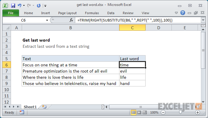 word and excel packages