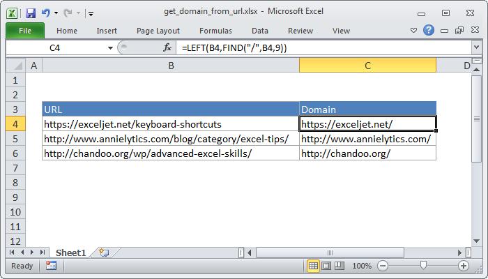 Excel Formula Get Top Level Domain Tld Exceljet. Excel Formula Get Domain Name From Url. Worksheet. Excel Vba Worksheet Name Ermitteln At Clickcart.co