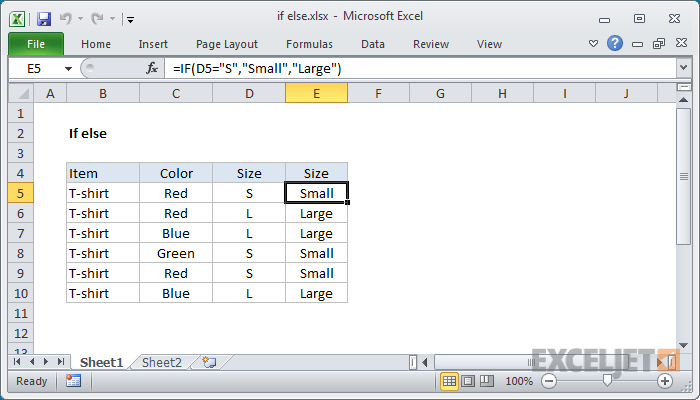 If formulas in excel 2007