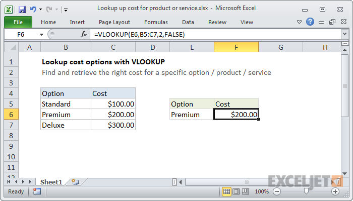 How to use hook up in excel