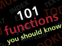 101 Excel Functions