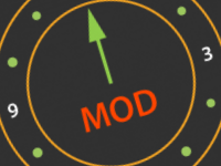 Like a clock, the MOD function repeats
