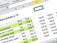 How to test conditional formatting with dummy formulas