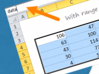 How to create named ranges in Excel