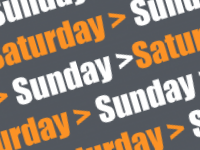 Generate weekend dates only with a simple formula
