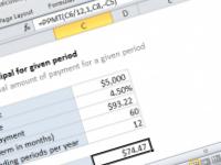 Excel formula: Calculate principal for given period