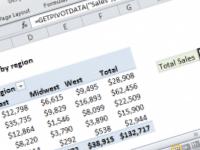 Excel formula: Get pivot table grand total