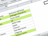 Excel formula: Highlight column differences