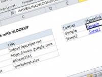 Excel formula: Build hyperlink with VLOOKUP