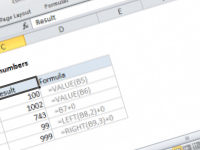 Excel formula: Convert text to numbers