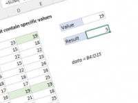 Excel formula: Count rows that contain specific values