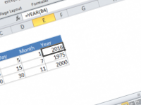 Excel formula: Get year from date