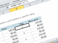 Excel formula: If cell equals