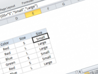 Excel formula: If else