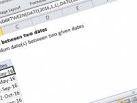 Excel formula: Random date between two dates