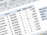 Excel formula: Get information corresponding to max value