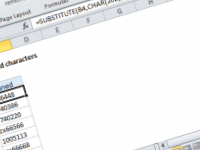Excel formula: Remove unwanted characters