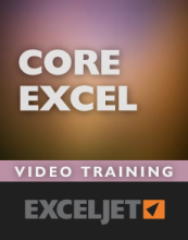 Excel foundational video course