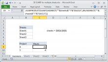How To Use The Excel Sumproduct Function Exceljet