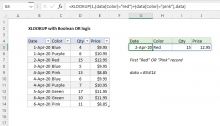 Excel formula: XLOOKUP with boolean OR logic