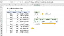 Excel formula: XLOOKUP rearrange columns