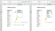 Excel formula: How to fix the #SPILL! error