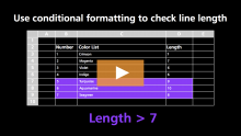How to use the Excel LEN function | Exceljet