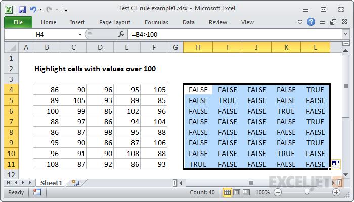 Copy formulas across and down