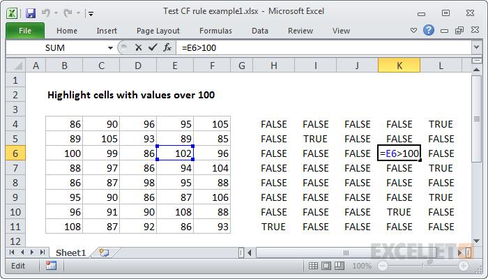 Checking formula references