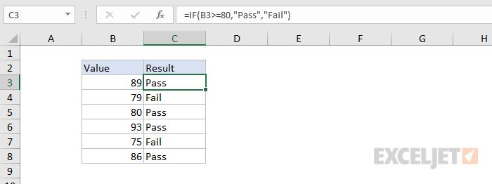 Adding criteria to a formula
