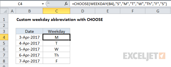 Nested IF vs the CHOOSE function