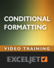 Excel conditional formatting video course